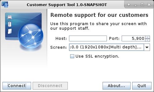 Remote Support Tool für Kunden